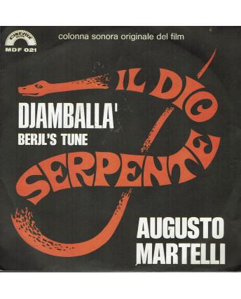 45 GIRI 0039 Augusto Martelli:Djamballà Cinevox Record MDF 021 Italy 1971