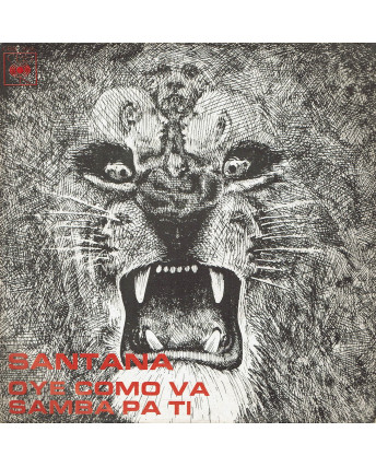 45 GIRI 0041 Santana:Oye como va/Samba pa ti CBS 7046 Italy 1971
