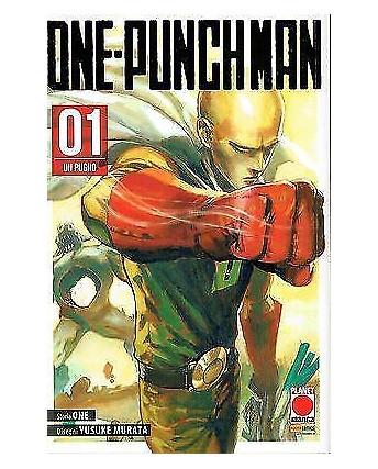 ONE-PUNCH MAN  1 seconda ristampa di One/Murata ed.Panini
