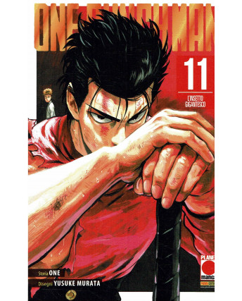 ONE-PUNCH MAN 11 prima edizione di One/Murata ed.Panini