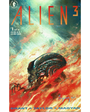 Alien 3 n. 1 Jun 92 ed.Dark Horse Lingua originale OL11