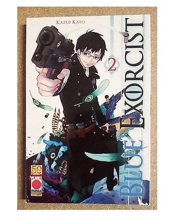 Blue Exorcist n. 2 di Kazue Kato - Prima Edizione Planet Manga
