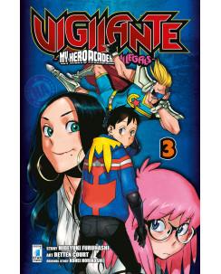 Vigilante My Hero Academia Illegals  3 di K.Horikoshi ed.Star Comics NUOVO