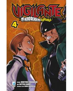 Vigilante My Hero Academia Illegals  4 di K.Horikoshi ed.Star Comics NUOVO