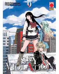 Sky Violation  9 di Tsuina Miura, Takahiro Oba ed. PANINI