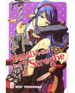 Yamada-Kun e le 7 streghe  17 di Miki Yoshikawa ed.Star Comics NUOVO
