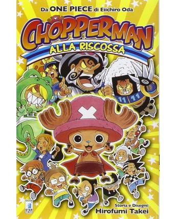Chopperman alla riscossa da One Piece di E.Oda Volume Unico ed.Panini NUOVO