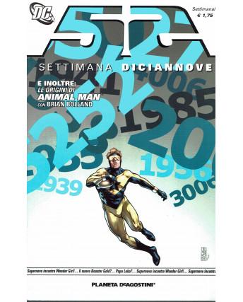 52 settimana diciannove 19 Le origini di Animal Man ed.Planeta de Agostini