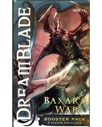 DreamBlade BAXAR's WAR Booster PACK Factory Sealed Gd45