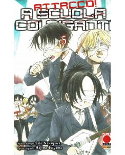 Attacco a scuola coi Giganti n.  1 di Hajime Isayama - Prima Edizione Panini