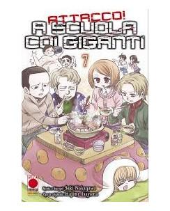 Attacco a scuola coi Giganti n.  7 di Hajime Isayama - Prima Edizione Panini