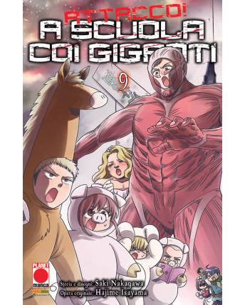 Attacco a scuola coi Giganti n.  9 di Hajime Isayama - Prima Edizione Panini