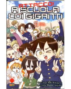 Attacco a scuola coi Giganti n. 11 di Hajime Isayama - Prima Edizione Panini