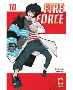 Fire Force 10 di Atsuhi Ohkubo ed. PANINI
