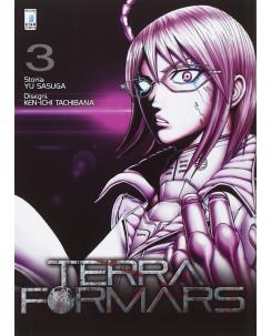 Terra Formars  3 di Yu Sasuga, Ken-Ichi Tachibana ed Star Comics NUOVO