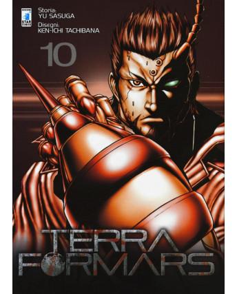 Terra Formars 10 di Yu Sasuga, Ken-Ichi Tachibana ed Star Comics NUOVO