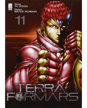 Terra Formars 11 di Yu Sasuga, Ken-Ichi Tachibana ed Star Comics NUOVO