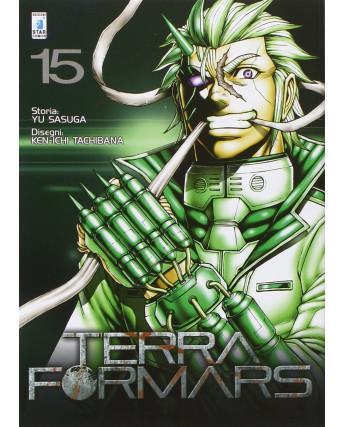Terra Formars 15 di Yu Sasuga, Ken-Ichi Tachibana ed Star Comics NUOVO