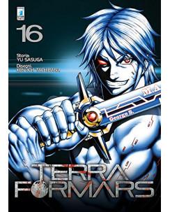 Terra Formars 16 di Yu Sasuga, Ken-Ichi Tachibana ed Star Comics NUOVO