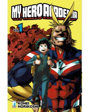 My Hero Academia  1 di K.Horikoshi ed.Star Comics NUOVO