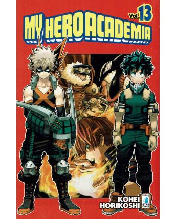 My Hero Academia 13 di K.Horikoshi ed.Star Comics NUOVO