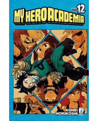 My Hero Academia 12 di K.Horikoshi ed.Star Comics NUOVO