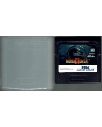 Videogioco GAME GEAR Sega :MORTAL KOMBAT II 2 no BOX no libretto