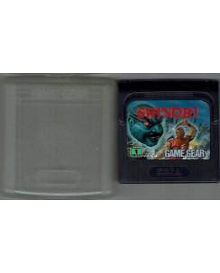 Videogioco GAME GEAR Sega :Shinobi no BOX no libretto