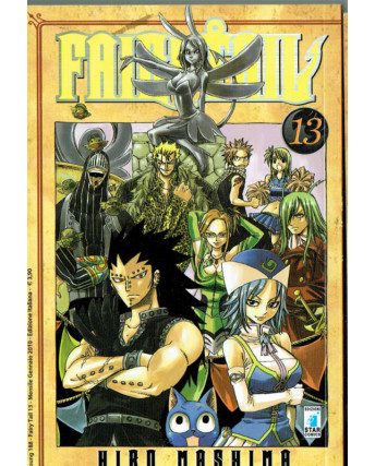 Fairy Tail 13 di Hiro MAshima ed.Star Comics