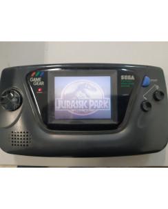 Consolle GAME GEAR Sega con gioco Jurassic Park FUNZIONANTE no Box no caricatore