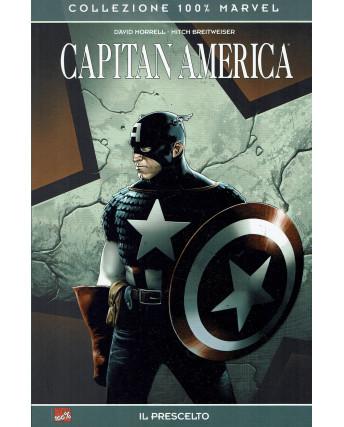 100% Marvel Capitan America il prescelto di Morrell ed.Panini NUOVO SU08