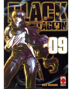 Black Lagoon n. 9 di Rei Hiroe ristampa ed. Planet Manga