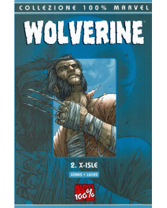 100% Marvel Wolverine 2 X Isle di Jones ed.Panini NUOVO SU08