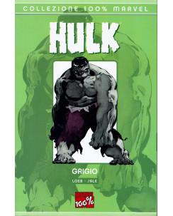 100% Marvel Hulk grigio di Loeb e Sale ed.Panini NUOVO SU08