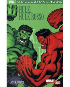 100% Marvel Hulk rosso di Loeb ed.Panini NUOVO SU08
