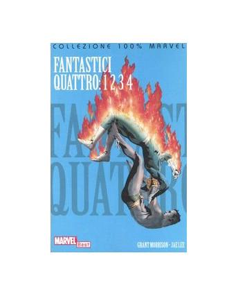 Collezione 100% Marvel Fantastici Quattro 1 2 3 4 di G. Morrison ed.Panini  SU14