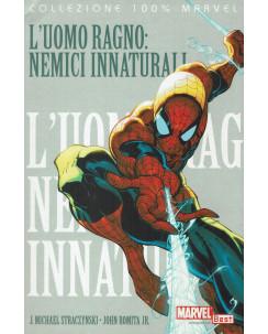 100% Marvel Spider-Man nemici innaturali Uomo Ragno ed.Panini NUOVO SU09