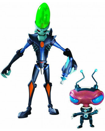 Ratchet & Clank Series 1: Dr Nefarious with Zoni Action Figure PS3 Gd37