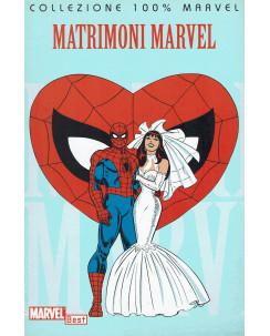 100% Marvel matrimoni Marvel ed.Panini NUOVO SU09