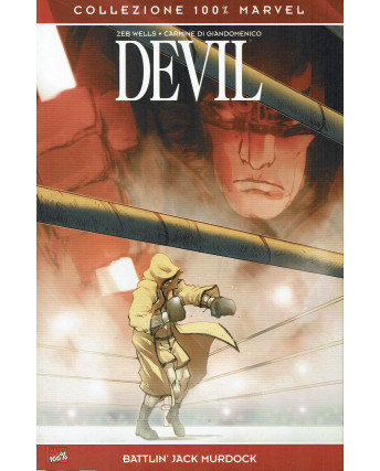 100% Marvel Devil Battlin'Jack Murdock ed.Panini NUOVO SU09