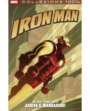 100% Marvel Iron Man arriva il mandarino! Joe Casey ed.Panini NUOVO SU10