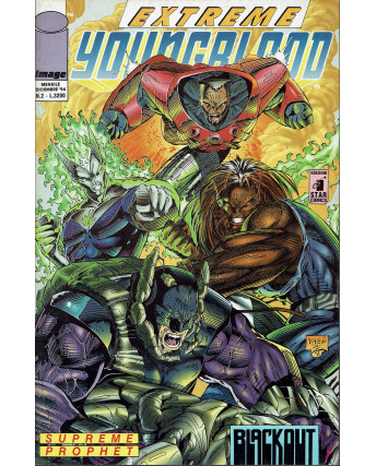 Extreme Youngblood  2 dic 1994 Image di Liefeld ed. Star Comics