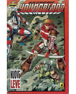 Extreme Youngblood 12 ott 1995 nuove leve di Liefeld ed. Star Comics.