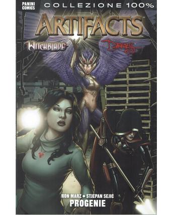 100% Artifacts Witchblade Darkness: Progenie ed.Panini NUOVO SU12