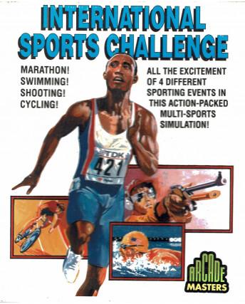 International sports challenge commodore 64/128 1992 Arcade Masters