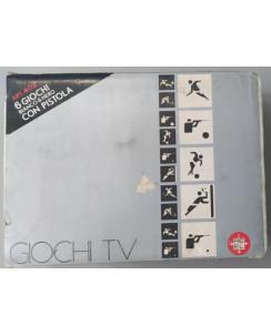 CONSOLE RE-EL ART. 402 6 GIOCHI TV BIANCO & NERO CON PISTOLA Gd09