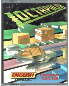 Octapolis videogioco cassetta Commodore 64 box english software