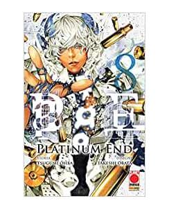 Platinum End  8 di Ohba e Obata aut.Death Note ed.Panini NUOVO