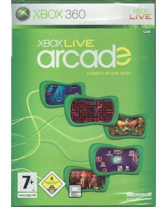 Videogioco per XBOX 360 : Live Arcade compilation disc