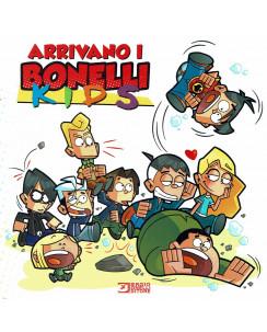 Arrivano i Bonelli KIDS ed.Bonelli Zagor Nathan Never Dampyr BO01